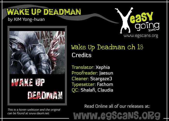 Wake Up Deadman 18 Page 1