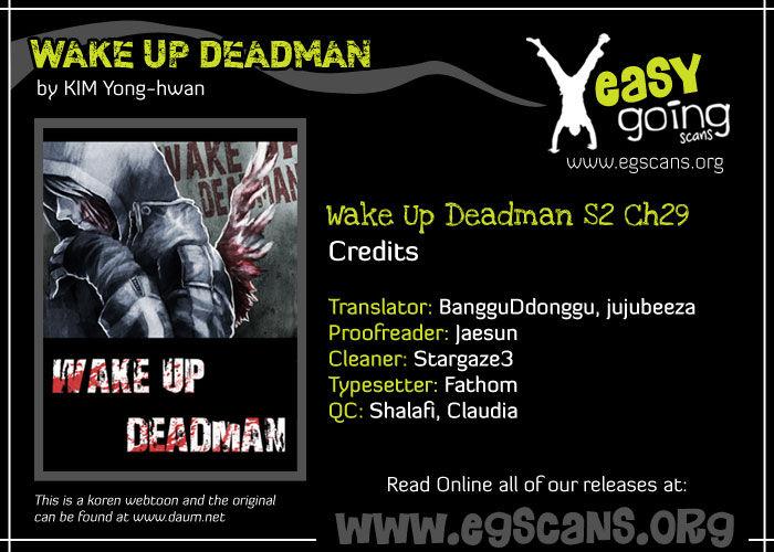 Wake Up Deadman 29 Page 1