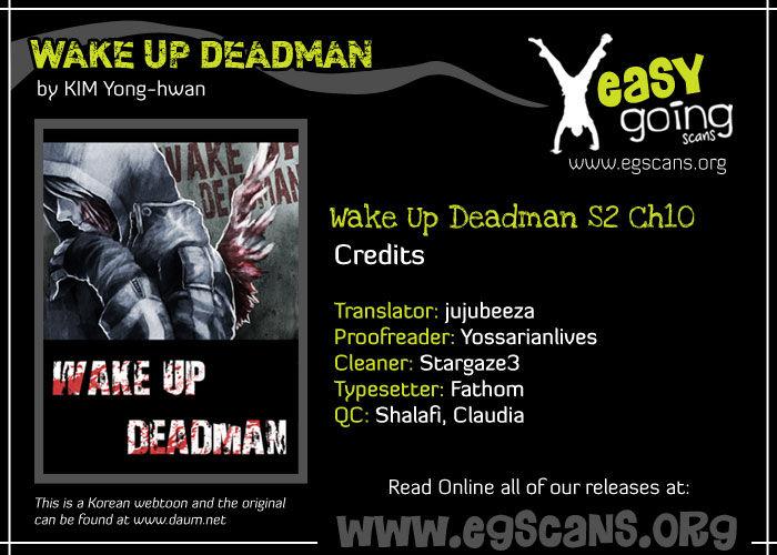 Wake Up Deadman 38 Page 1