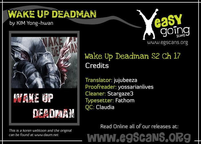Wake Up Deadman 45 Page 1