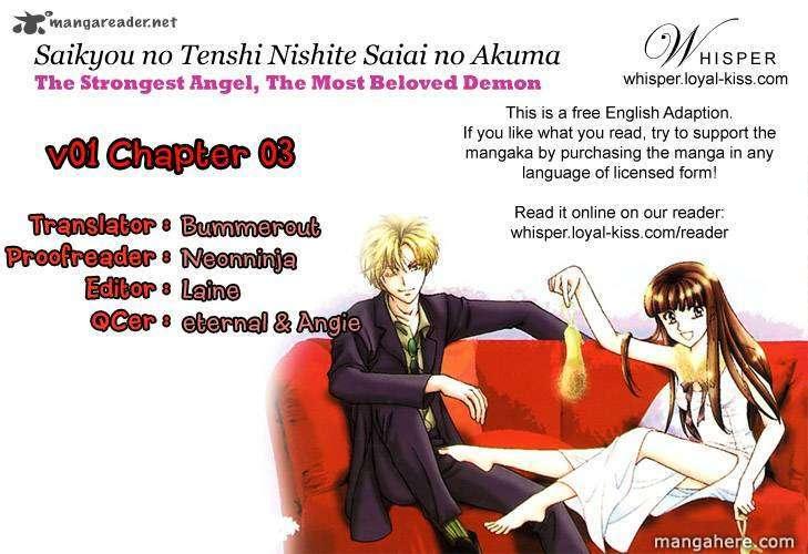 Saikyou no Tenshi Nishite Saiai no Akuma 3 Page 1