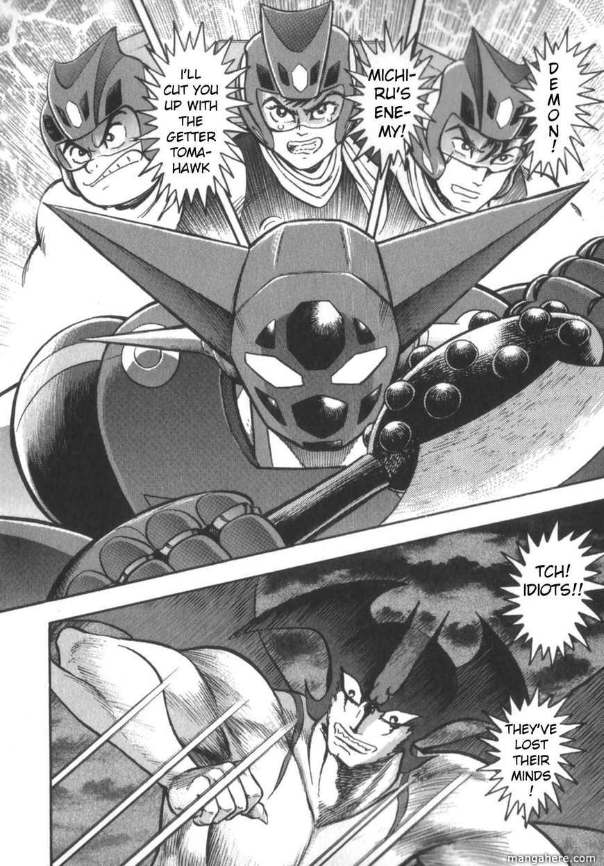 Devilman Tai Getter Robo 3 Page 2