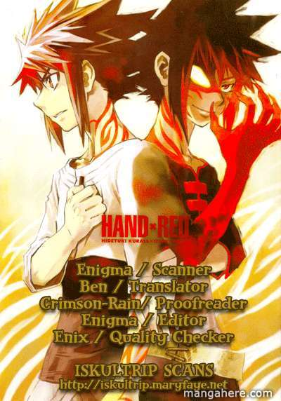Hand X Red 13 Page 1