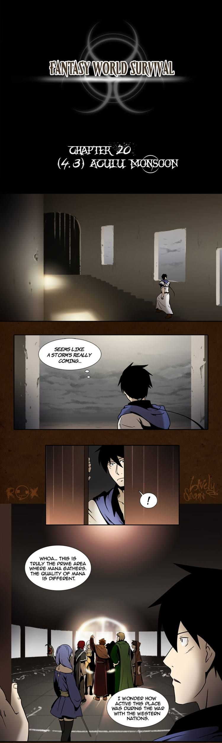 Fantasy World Survival 20 Page 1
