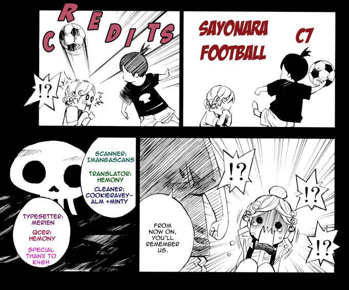 Sayonara Football 7 Page 1