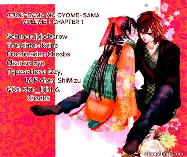 Ojousama Wa Oyomesama 1 Page 2