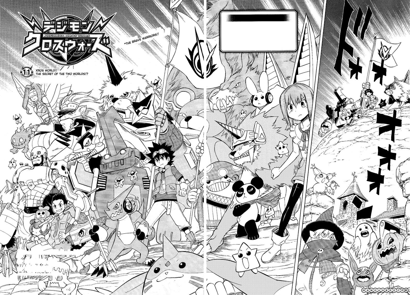 Digimon Cross Wars 11 Page 2