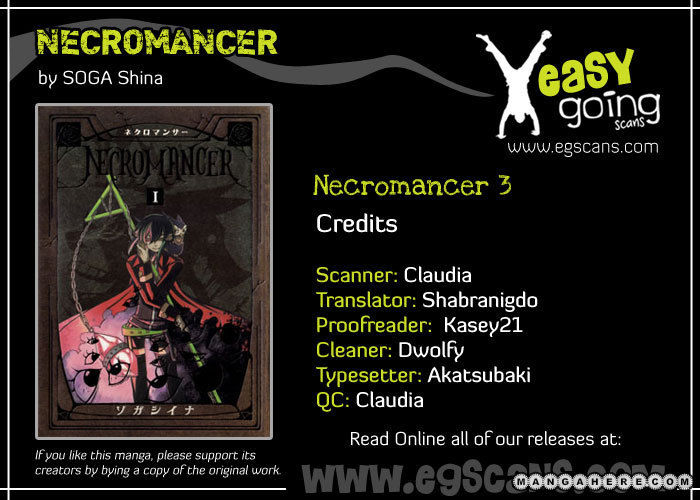 Necromancer 3 Page 1