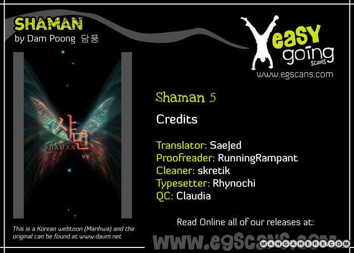 Shaman 5 Page 1