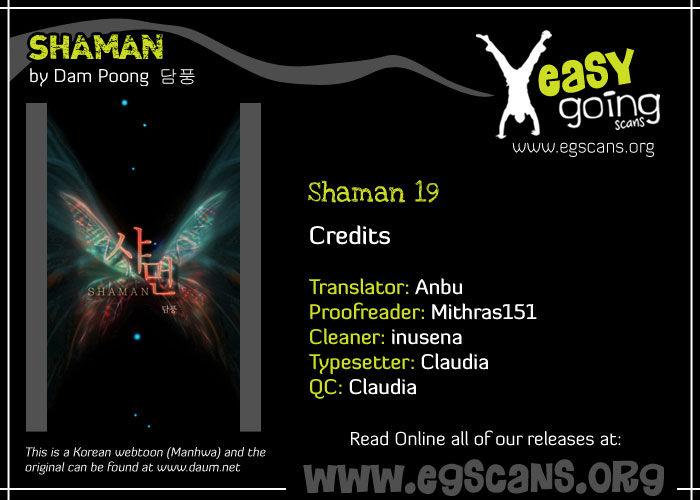 Shaman 19 Page 1