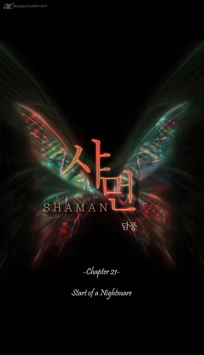 Shaman 21 Page 1