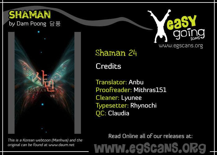Shaman 24 Page 1