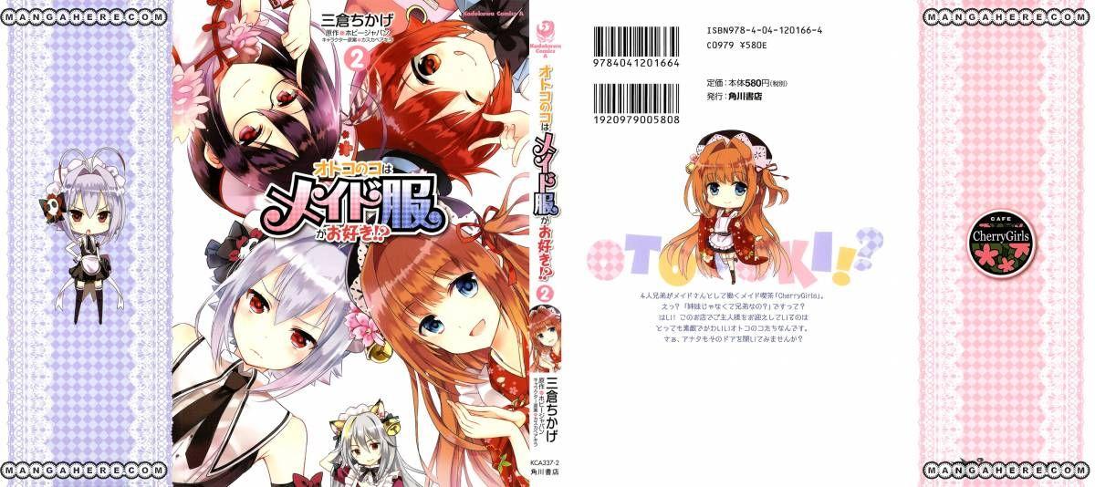 Otokonoko Wa Maid Fuku Ga Osuki 8 Page 2