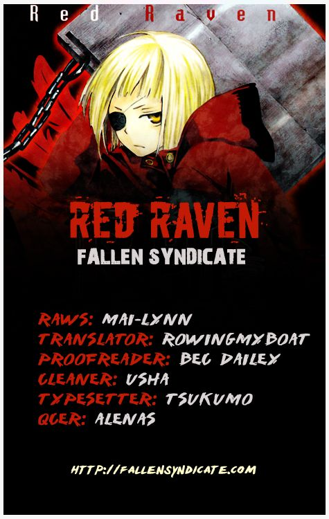 Red Raven 12 Page 1