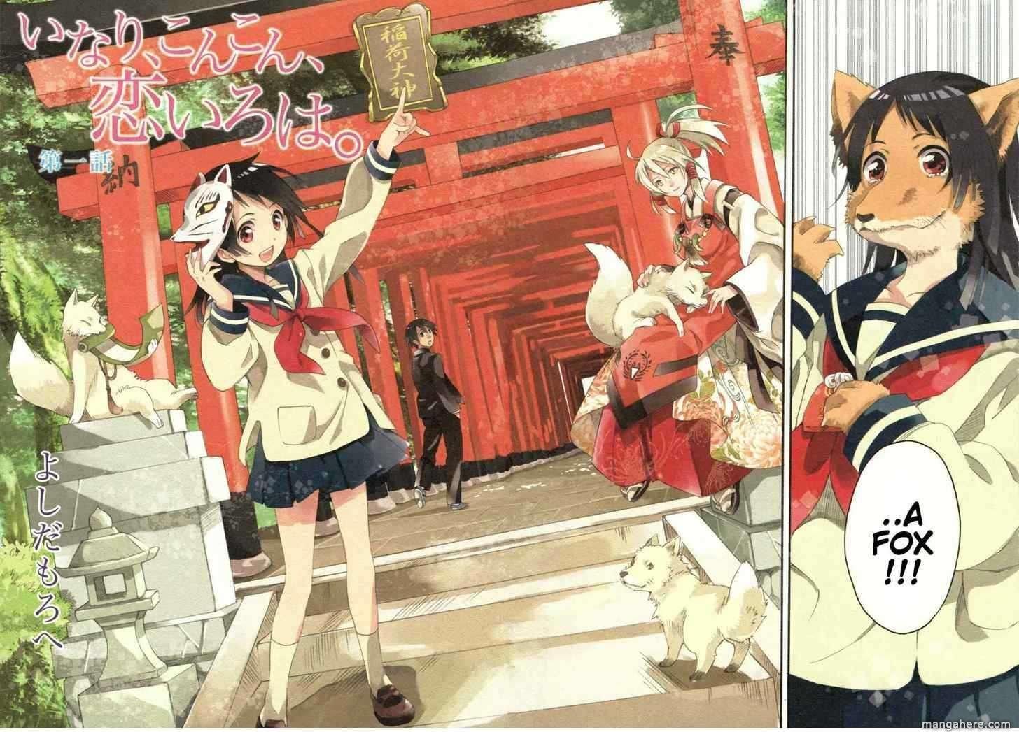 Inari, Konkon, Koi Iroha 1 Page 2