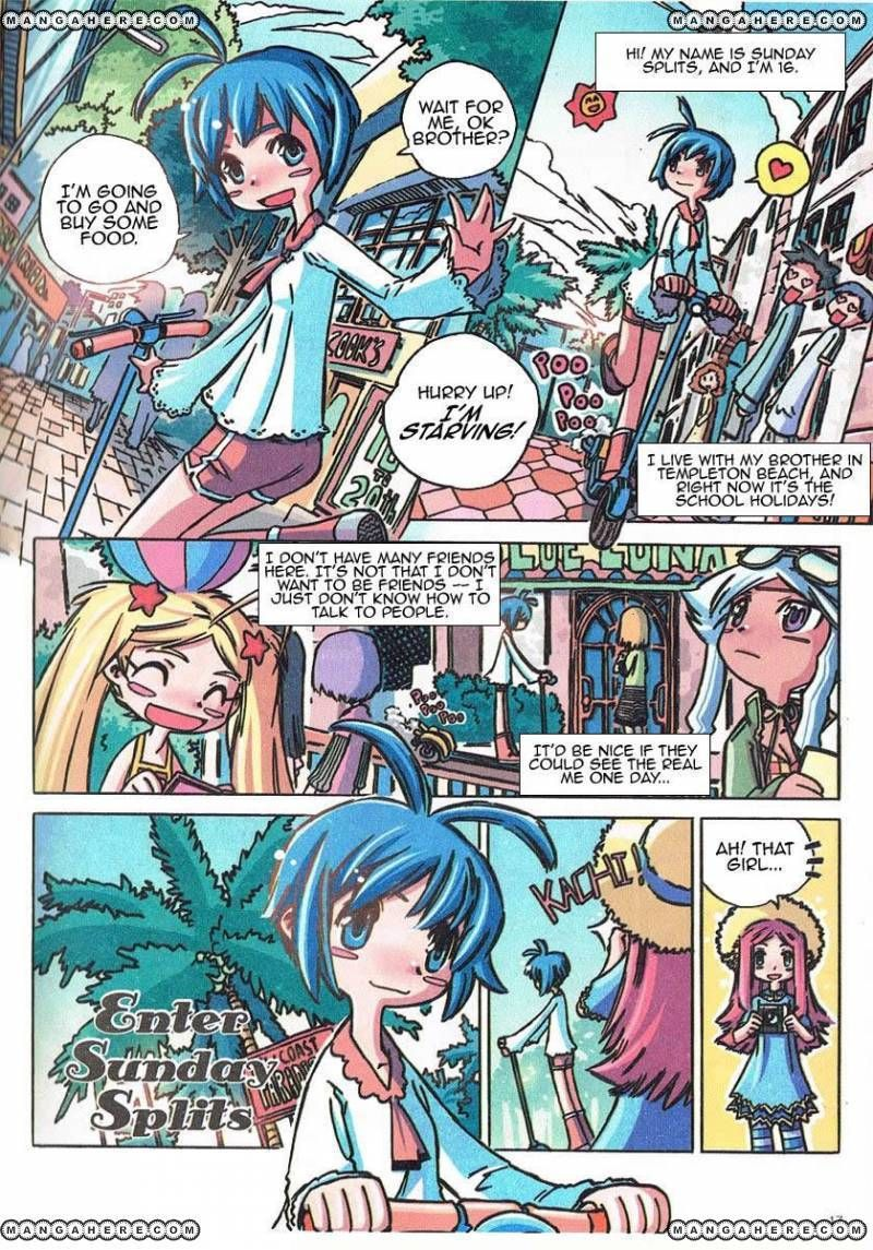 Caramel Theater 3 Page 1