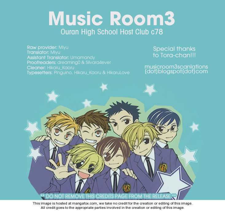 Ouran High School Host Club 78.5 Page 1