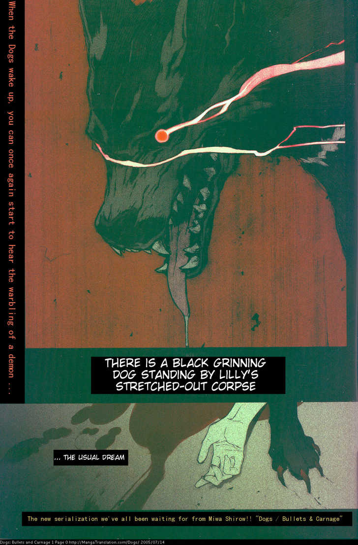 Dogs: Bullets & Carnage 1 Page 1