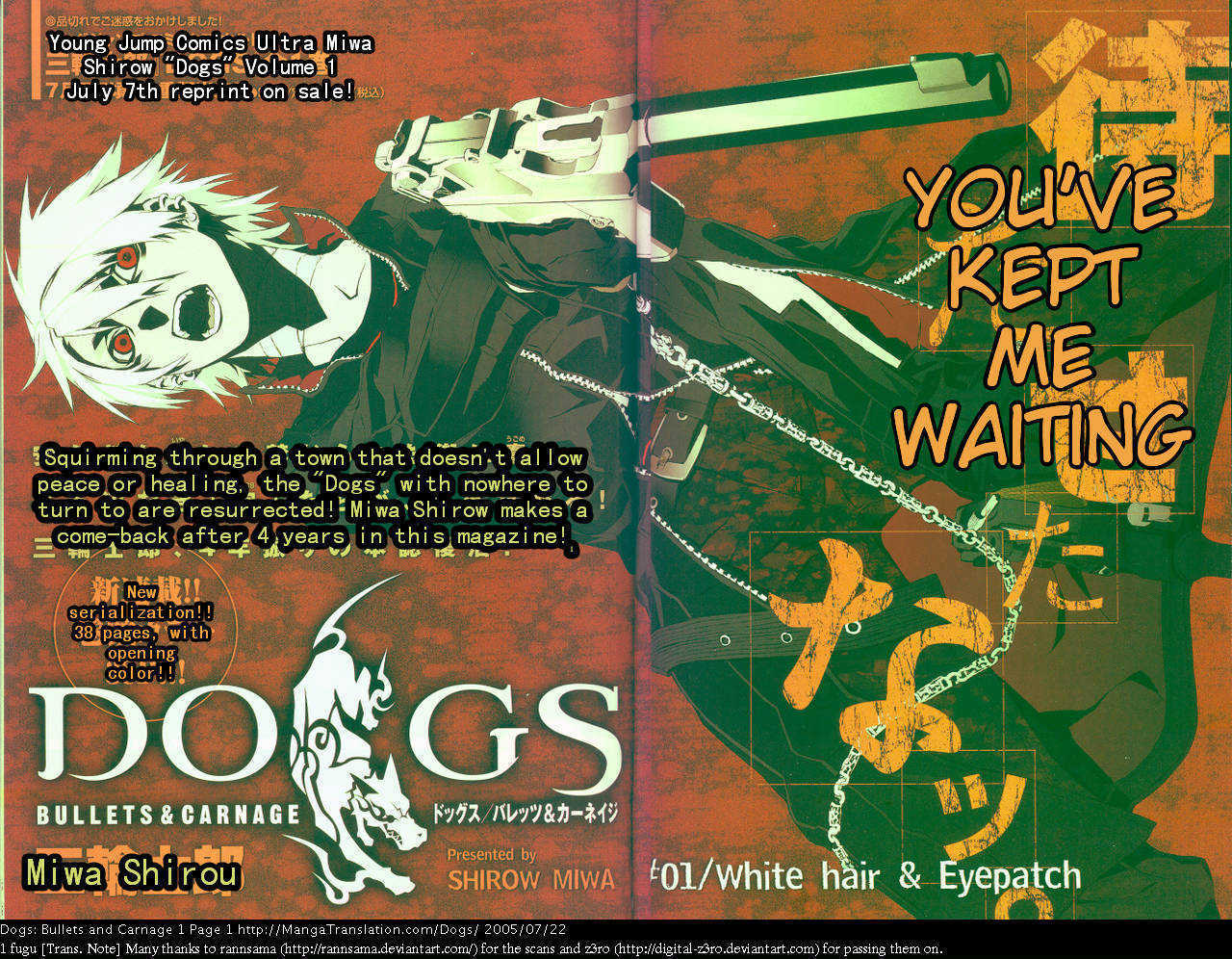 Dogs: Bullets & Carnage 1 Page 2