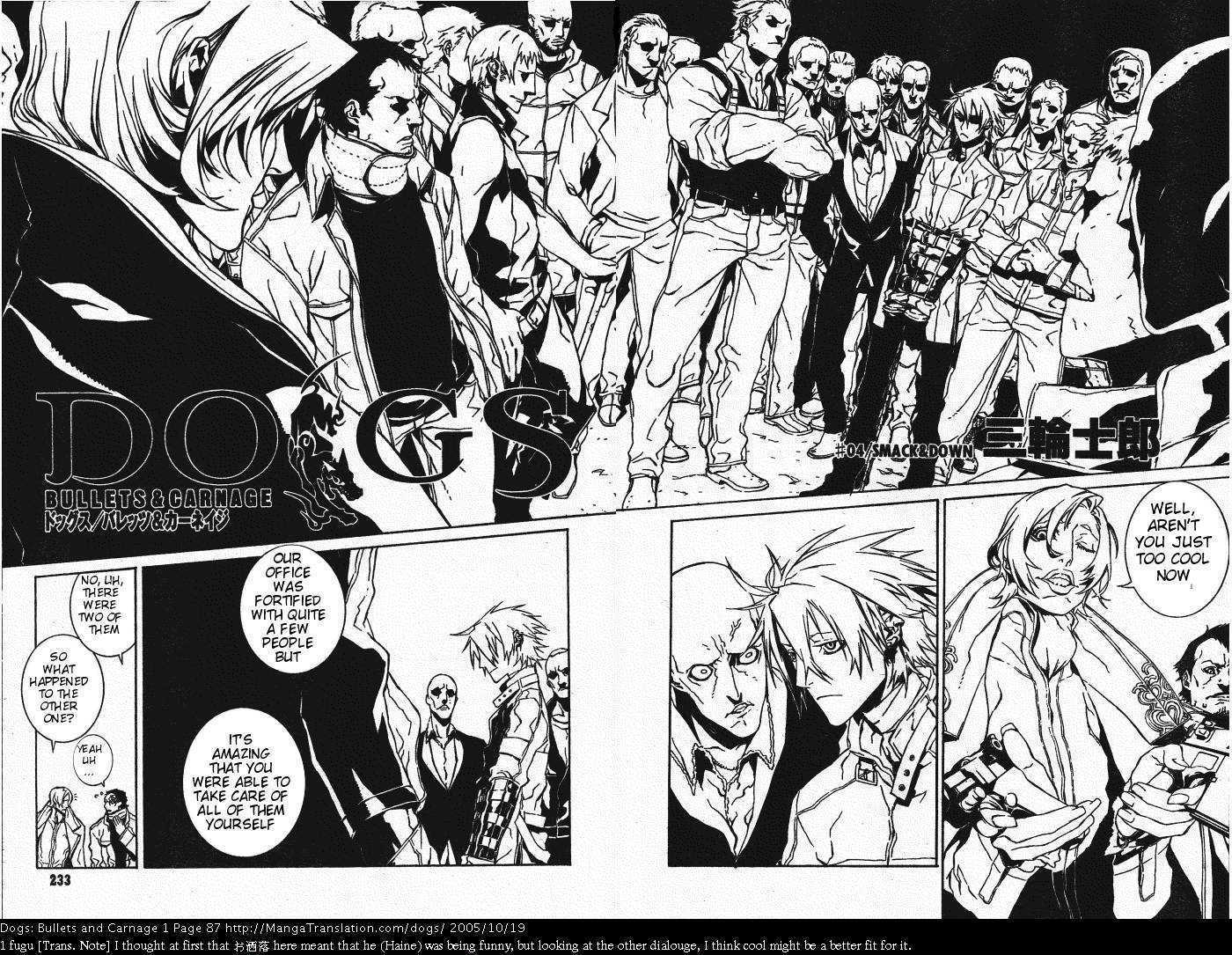 Dogs: Bullets & Carnage 4 Page 2