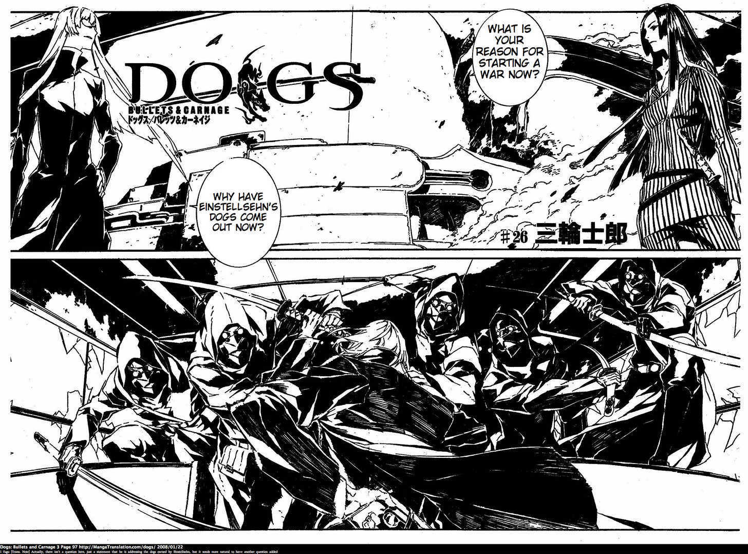 Dogs: Bullets & Carnage 26 Page 2