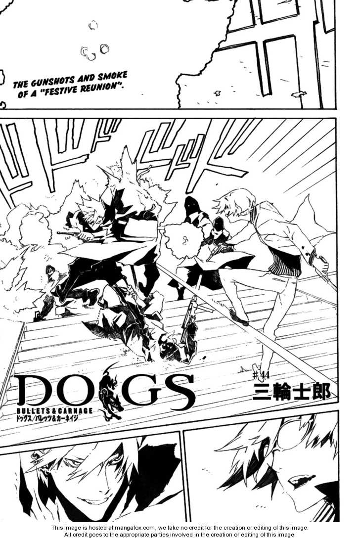 Dogs: Bullets & Carnage 44 Page 1