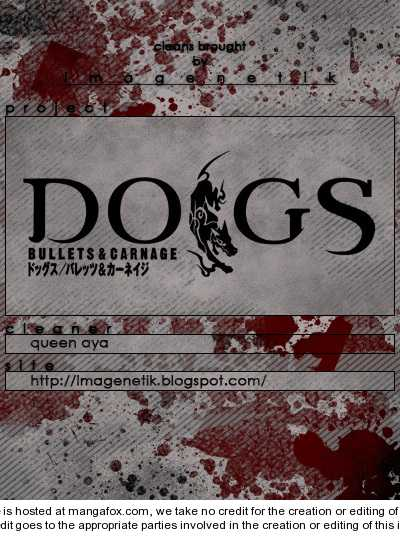 Dogs: Bullets & Carnage 49 Page 1