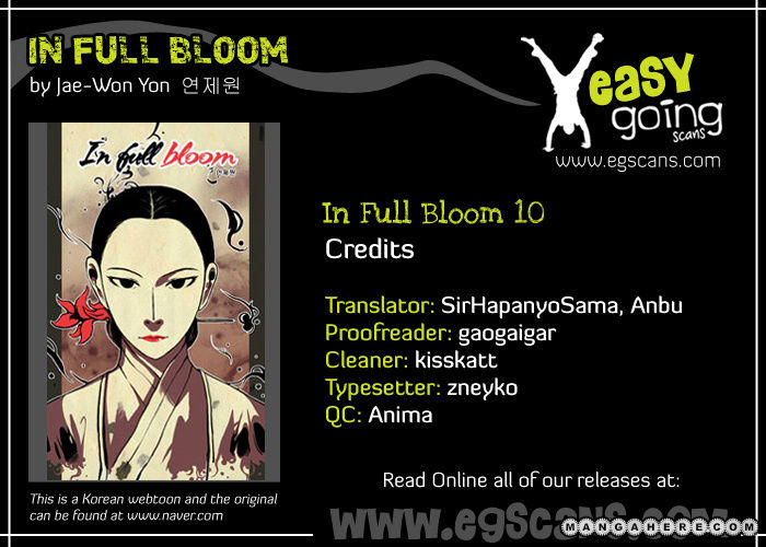 In Full Bloom Yon Jae Won 10 Page 1