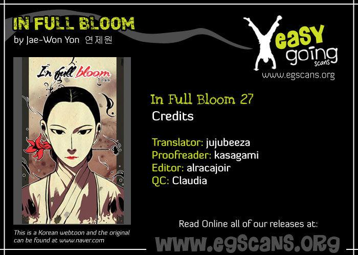In Full Bloom Yon Jae Won 27 Page 1