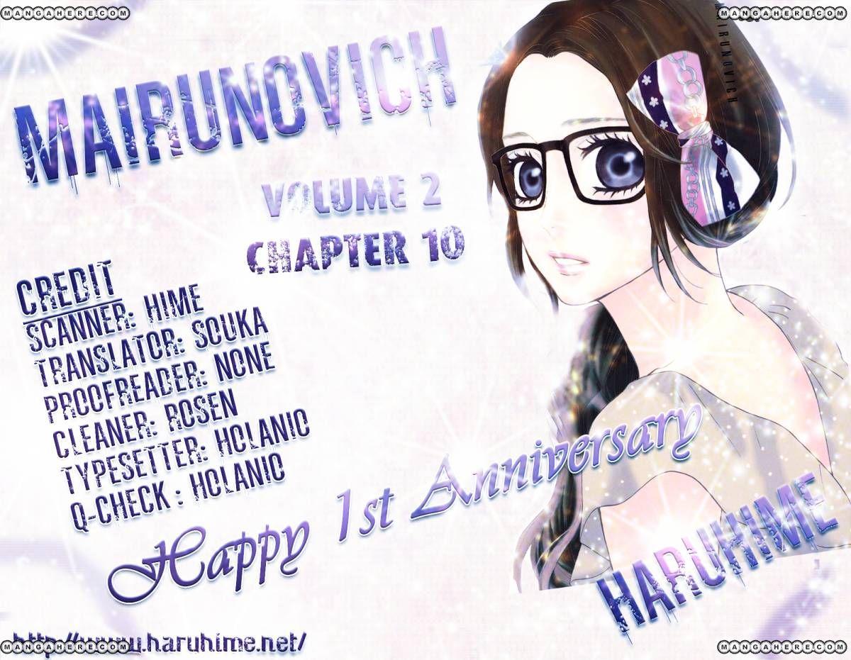 Mairunovich 10 Page 1