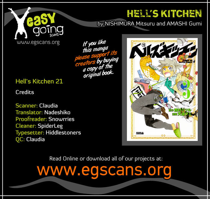Hells Kitchen 21 Page 1