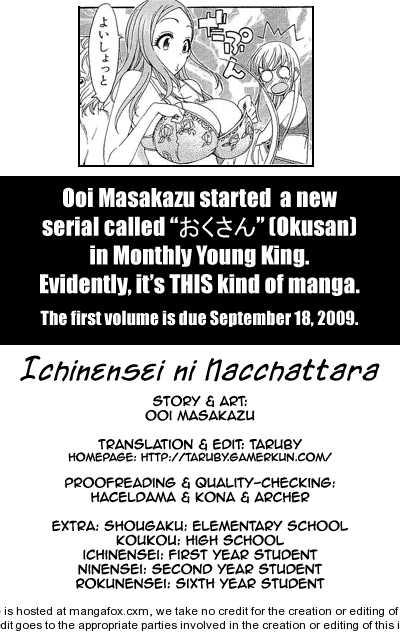 Ichinensei ni Nacchattara 22 Page 1